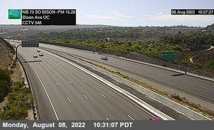 SR-73 : South of Bison Avenue Overcross A