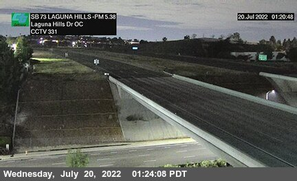 SR-73 : South of Laguna Hills Drive Overcross