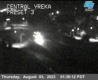 Interstate 5 at Yreka California. Courtesy CalTrans http://www.dot.ca.gov