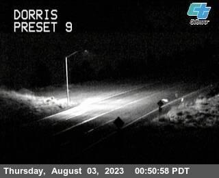Highway 97 at Dorris, California, courtesy CalTrans http://www.dot.ca.gov