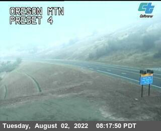 Oregon Mountain webcam on Route 299, Trinity County in Northern Californa