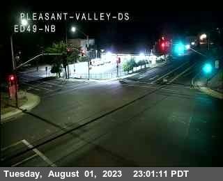 Hwy 49 at Pleasant Valley