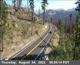 Hwy 50 at Echo Summit