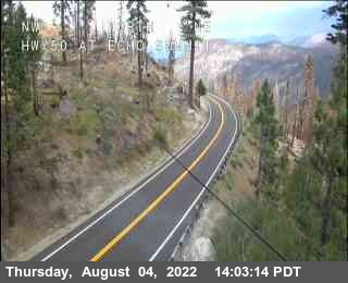 US 50 highway webcams and road conditions - Echo Summit, CA, Sierra