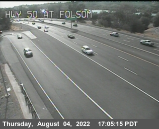 Hwy 50 at Folsom Blvd
