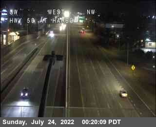 Hwy 50 at Harbor