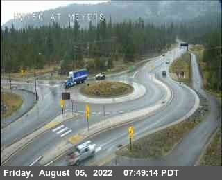 Hwy 50 at Meyers