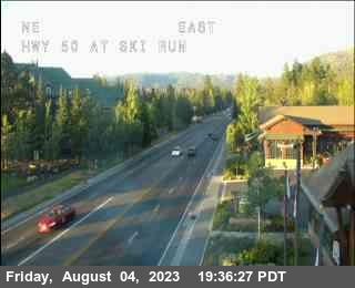 Hwy 50 at Ski Run