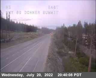 Hwy 80 at Donner Summit Road Cam
