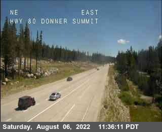 Hwy 80 at Donner Summit