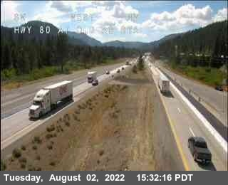 Hwy 80 at Old Ag Sta Road Cam