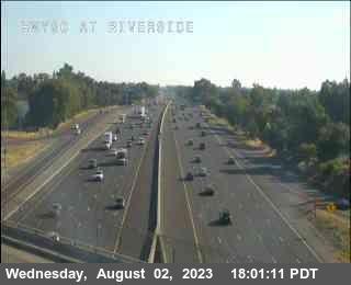 Hwy 80 at Riverside