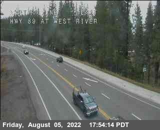 Hwy 89 at West River Road Cam