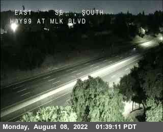 Hwy 99 at Martin Luther King