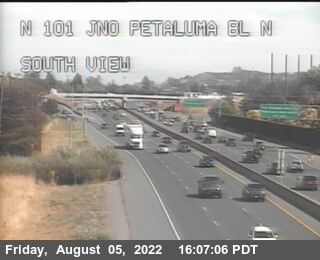TV144 -- US-101 : North Of Petaluma Blvd