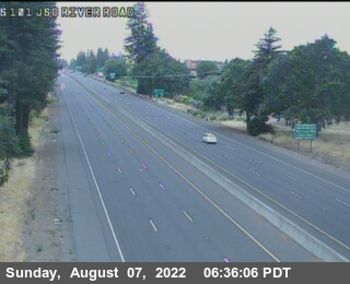 TV147 -- US-101 : South Of River Road