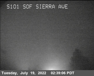 TV169 -- US-101 : South of Sierra Avenue