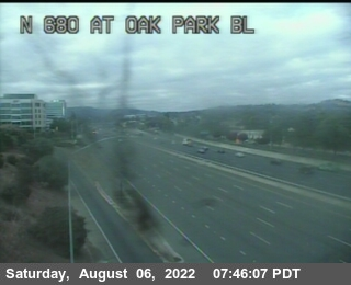 TV205 -- I-680 : Oak Park Bl