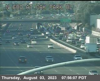 TV205 -- I-680 : Oak Park Bl