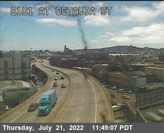 TV301 -- US-101 : At Octavia St
