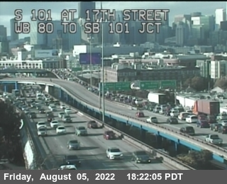 TV302 -- US-101 : 17th Street