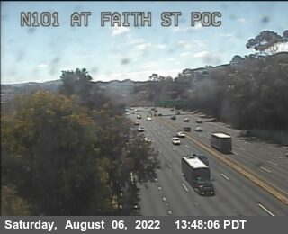 TV310 -- US-101: AT FAITH ST POC