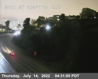 TV311 -- US-101 : At Hospital Curve