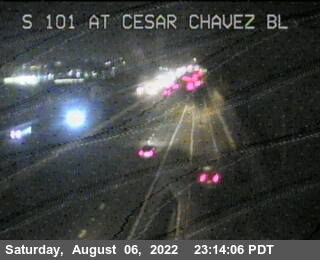 TV312 -- US-101 : At Cesar Chavez Bl