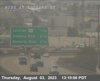 TV314 -- I-280 : At Indiana St