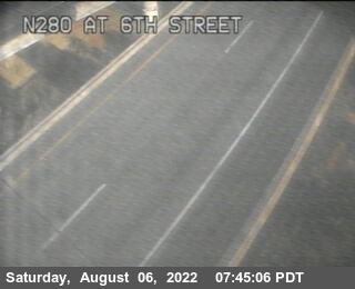 TV317 -- I-280 : 6th Street Offramp