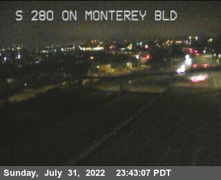 TV320 -- I-280 : On Monterey Bl