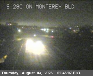 TV320 -- I-280 : On Monterey Bl