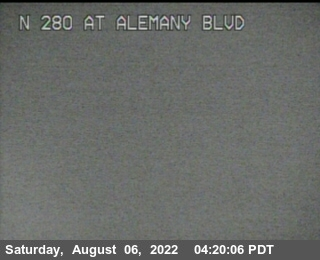 TV321 -- I-280 :  At Alemany Bl