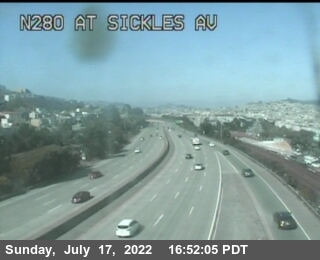 TV323 -- I-280 : At Sickles Av