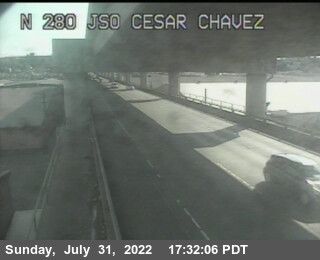 TV325 -- I-280 :  Just South Of Cesar Chavez