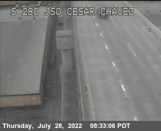 TV326 -- I-280 :  Just south of Cesar Chavez