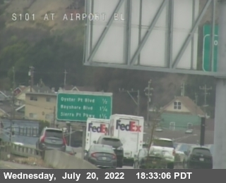 TV406 -- US-101 : Airport Blvd