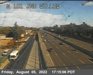 TV433 -- US-101 : North of Willow Road