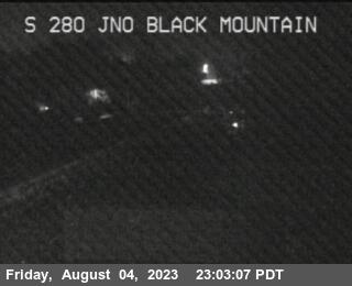 TV447 -- I-280 :  NOF BLACK MOUNTAIN RD