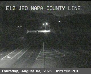 TV485 -- SR-12 : East of Napa County Line