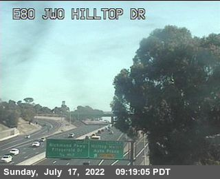 TV509 -- I-80 : Just West Of Hilltop Drive