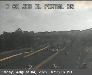 TV510 -- I-80 : Just East Of El Portal Drive