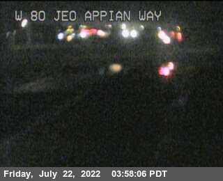 TV512 -- I-80 : Just East Of Appian Way
