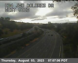TV603 -- SR-24 : E24 WOF Dolores Rd