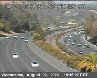 TV609 -- SR-24 : W24 JEO St Stephens Drive OC