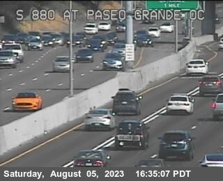 TV711 -- I-880 : Paseo Grande Overcross