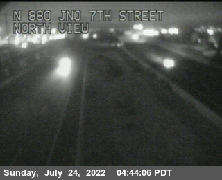 TV722 -- I-880 : Just North Of 7th Street
