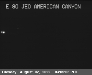 TV829 -- I-80 : East Of American Canyon Road