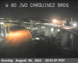 TV972 -- I-80 : Just West Of Carquinez Brdg