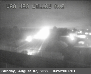 TV978 -- I-80 : Just East Of Willow Avenue